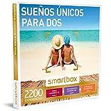 Smartbox - Caja Regalo - SUEÑOS ÚNICOS para Dos - 2200 cenas románticas, tratamientos de Bienestar y Actividades de Aventura