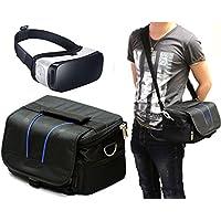 Navitech borsa nera con tracolla per auricolari realtà virtuali 3D, tra cui il LENKEWI V1