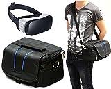 Navitech Noir Sac de transport avec bandoulière pour la réalité virtuelle casques 3D, y compris le Polaroid