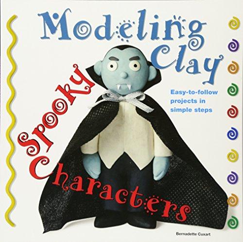 Spooky Characters (Modeling Clay) por Bernadette Cuxart