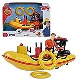 Feuerwehrmann Sam - Boot Rettungsboot Neptun mit Sound & Sam