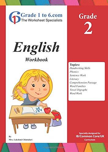 English Workbook Grade 2 Grade 1 To 6 Books Buy Online In Belize At Belize Desertcart Com Productid 56798527