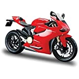Maisto Assembly Line 1:12 Ducati 1199 Panigale Diecast Motorcycle (Red)