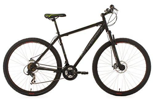 KS Cycling Fahrrad Mountainbike Hardtail Twentyniner 29 Zoll Heist, Schwarz, 29, 553M