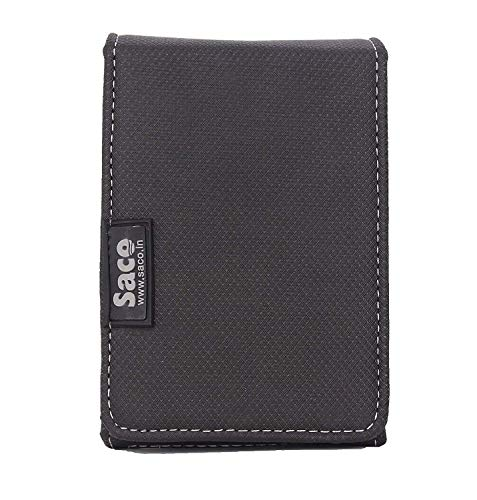 Saco Bag for hard disk case coverpouch forhard disk drivetwo capacity Dell 1TB USB 3.0 External Hard Drive