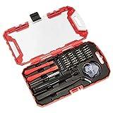 AmazonBasics Set di cacciaviti per riparazione di apparecchi elettronici, confezione da 32 pezzi