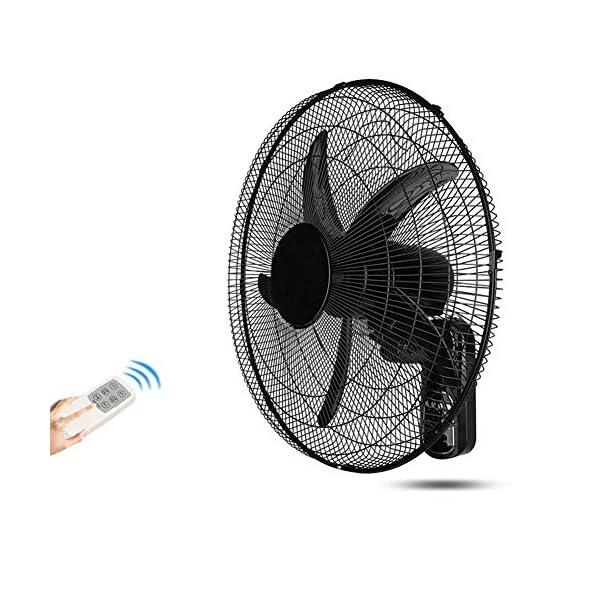 Koovin-Ventilador-de-Pared-Ventilador-montado-en-la-Pared-Ventilador-de-Cabeza-Sacudida-con-Control-Remoto-de-Tiempo-inclinacin-Ajustable-Funcionamiento-silencioso