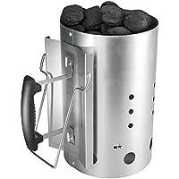 Barbacoa chimenea de arranque con la manija de seguridad Charcoal más ligero quema columna 30cm H & 19CM DIA