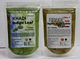 #5: khadi Indigo powder & Heena powder ( 100 grams each) pure & natural