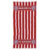 FC Bayern München Handtuch rot/weiß 50x100cm