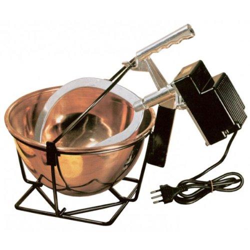 Pinti Inox Paiolo Elettrico Rame automat cm26 lt5 Pentole e Preparazione Cucina, Acciaio, 26 cm