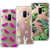 VemMore [3 Packs] Kompatibel für Galaxy S9 Hülle Transparent Weiche Silikon Handytasche Handyhülle Schutzhülle... preisvergleich bei billige-tabletten.eu