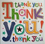 Multipack 36 Thank You cards & envelo...