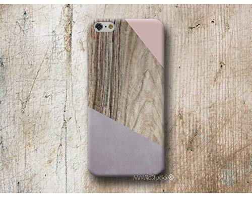 Rosa Corner Holz Print Hülle Handyhülle für iPhone X XR XS MAX 4 4s 5 5se se 5C 5S 6 6s 7 Plus iPhone 8 Plus iPod 5 6