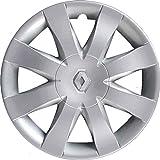 """Lot de 4 enjoliveurs de roues 15"""" Clio à partir de 2008, non originaux"""