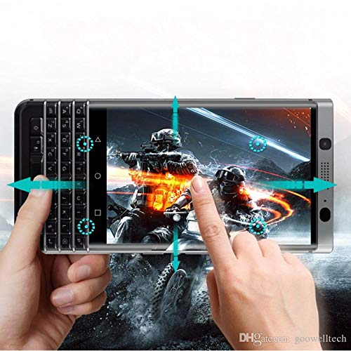 BlackBerry Key2 / Keytwo Clear Full Screen Coverage 3D Curved Edge Tempered Glass - Clear