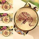 Reloj de mujer con elefante Idea regalo india Tao