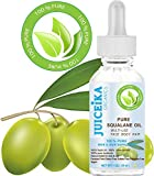 PURE SQUALANE OIL. 100% Pure / Undiluted Oil. 100% Pure Moisture . 100% Olive-derived. Skin & Hair Supplement. by Juiceika Organic (1 Fl.oz - 30 ml)