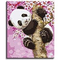 Amazon Fr Panda Peinture Au Numero Kits De Loisirs Creatifs