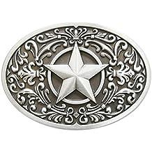 75366b9da8a271 Schnalle123 Gürtelschnalle Western Star Stern Cowboy 3D Optik für Wechselgürtel  Gürtel Schnalle Buckle Modell 246