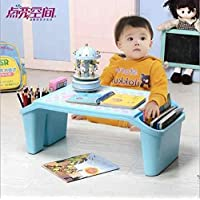 Study Table Plastic Children Small Study Table With Storage Lap Laptop Desk For Kid Adult Home Bedroom Furniture Portable