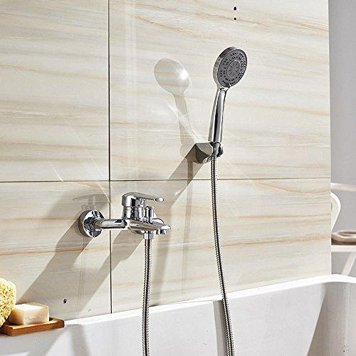 NewBorn Faucet Küche oder Badezimmer Waschbecken Mischbatterie Wasserhahn Messing S Einfache Dusche bündige Montage Lift Handbrause Asb Dusche Sprinkler- und kaltem Wasser Hähne Ein