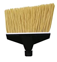O'Cedar Commercial 91282 MaxiPlus Replacement Head, Flagged Bristles (Pack of 3)