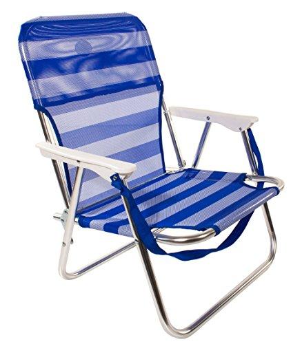 Joy summer spiaggina alluminio sedia sdraio relax mare spiaggia