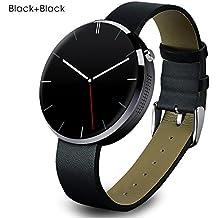 Buyee® schwarz wasserdichte Bluetooth Smartwatch Handy-Uhr für Smartphone Apple iphone 4 / 4S / 5 / 5C / 5S / 6 / 6S Android Samsung S6 / S6 Rand / S4 / S5 / Note3 / Note 4 HTC