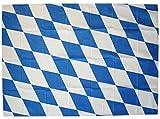 Deko-Fahne - Bayern - weiß-blaue Rauten-Flagge - Gr. ca. 150 x 90 cm - 07815