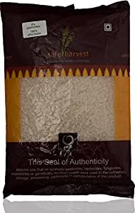 Safe Harvest Sona Masoori Raw Rice (18 Months), 1kg