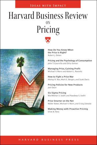Harvard Business Review on Pricing por Harvard Business School Press