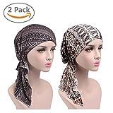 EINSKEY Chemo Kopfbedeckung Damen Sommer Elegant Bandana Turban Kopftuch Set