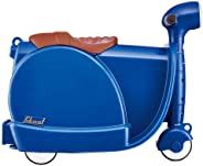 Worlds Apart Scoot Kid's Ride-on Suitcase, Navy Blue