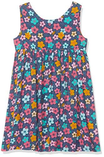 Losan Mädchen 916-7981an Kleid, Mehrfarbig (Azul Noche 440), 5 Jahre (Herstellergröße: 5) - Noche De Kleider