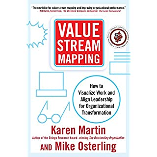 Value Stream Mapping: How to Visualize Work and Align Leadership for Organizational Transformation (English Edition)
