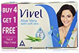 Vivel Aloe Vera Soap, 150g (Buy 4 Get 1 Free)