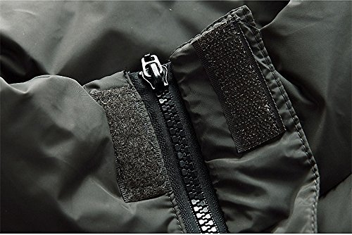 Faston Herren Weste Steppweste Männer Winter Outdoor Weste Padded Vest Dunkelblau