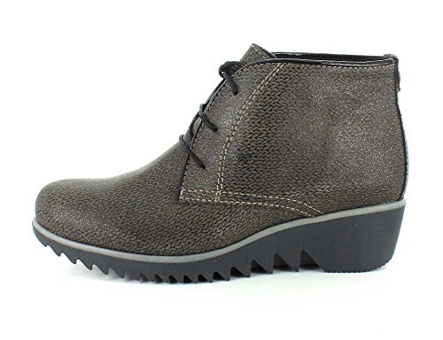 Wolky Confort Chaussures à lacets 03818Vieux Winter Taupe Malibu Suede