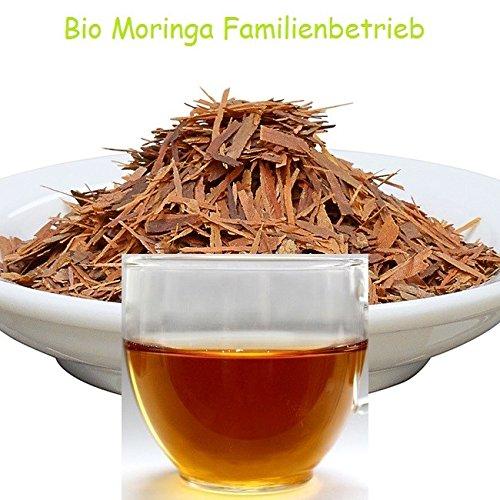 Wildwuchs Lapacho Tee aus Brasilien Rohkost Premium Qualität Regenwald Wildwuchs Auslese, 1000 g