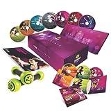 Zumba Fitness Exhilarate, Set aus 7 DVDs, Englisch/Französisch, mit Toning Sticks, Greatest Hits CD