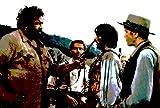 Bud Spencer und Terence Hill–Bild moderne handbemalt–Pop Art Effect (Format 70x 50cm)