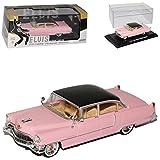 alles-meine.de GmbH Cadillac Fleetwood Serie 60 Limousine Pink Elvis Presley 1955 1/43 Greenlight Modell Auto mit individiuellem Wunschkennzeichen