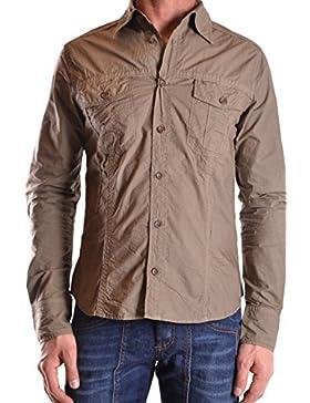 Gazzarrini Camicia Uomo MCBI132008O Cotone Verde
