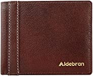Aldebran Men's RFID Protected Chrome tanned and Soft leather wallet (BR