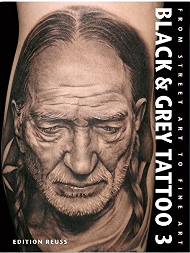 Black & Grey Tattoo 3: Photorealism/Portrait por Marisa Kakoulas