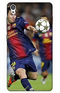iessential football Designer Printed Back Case Cover for OnePlus X