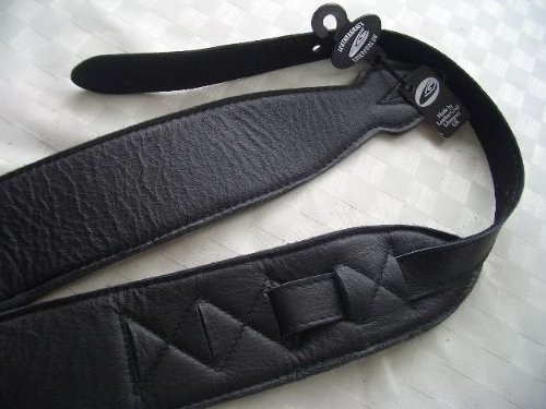 leathergraft-25-inch-softee-leather-guitar-strap-black