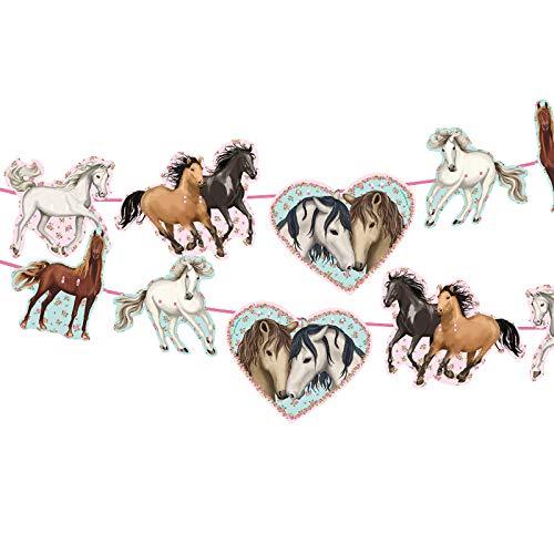 e * Tapirella Pferde * als Deko für Kindergeburtstag und Motto-Party | 11361 | Pferde Pony Reiten Kinder Geburtstag Motto Mädchen ()
