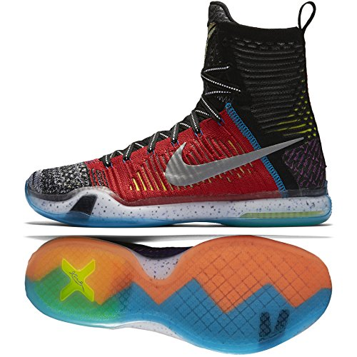 size 40 0238c 63018 Nike Men s Kobe X Elite SE Basketball Shoes, Black Lime Blue Red (Multi- Color Reflect Silver), 10 - Buy Online in Oman.   Shoes Products in Oman -  See ...